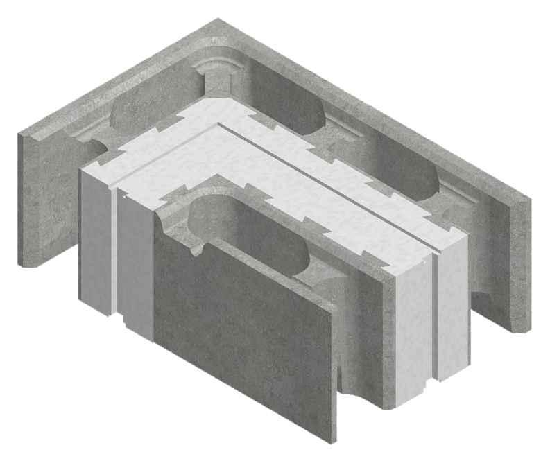 Как построить теплый дом из блоков